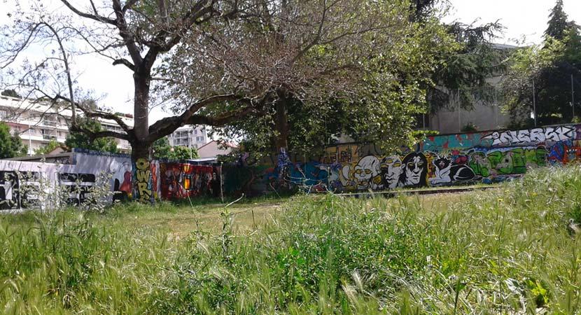 Detry & Levy; Projet participatif rue Pierre de Lassalle, Lyon, le terrain.