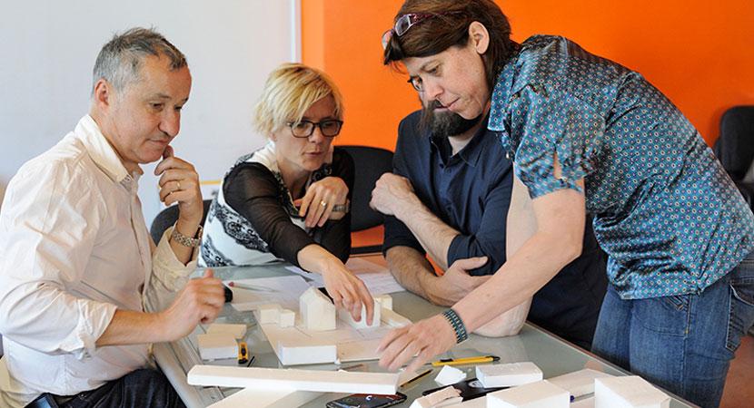 Detry & Levy; Projet participatif rue Pierre de Lassalle, Lyon. Recherche avec les habitants