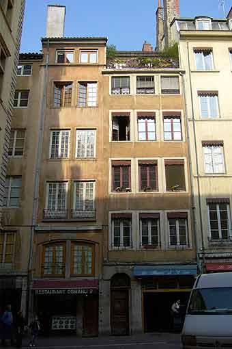 Detry & Levy 12 rue Saint-Jean Lyonfaçade sur rue