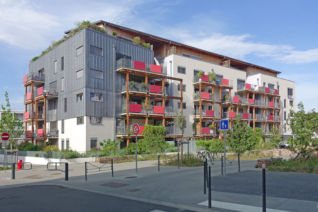 Detry & Levy architectes Village Vertical Villeurbanne