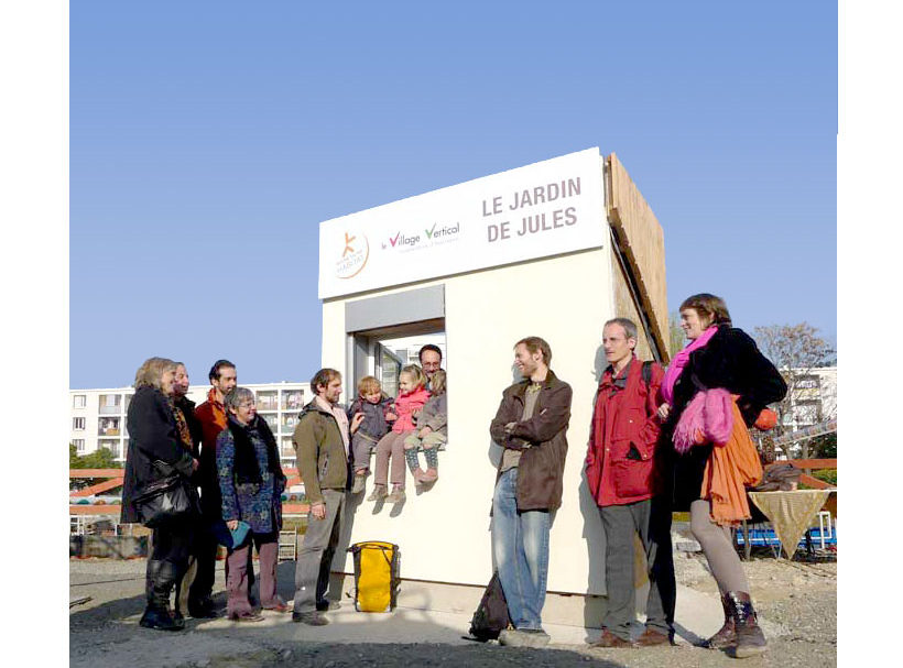 Le village vertical : conception participative : Les futurs habitants !